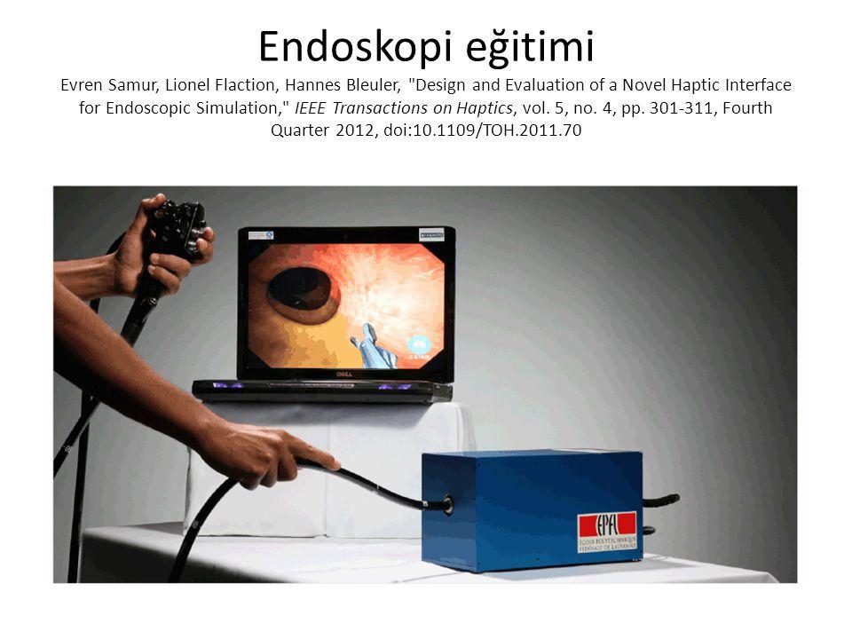Endoskopi eğitimi Evren Samur, Lionel Flaction, Hannes Bleuler,