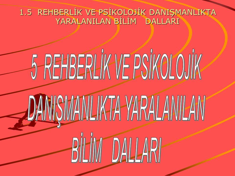 6. Rehberlik bir disiplin görevi değildir, rehberlik yargılamaz ve ceza vermez: Okullarda Rehberlik ve psikolojik danışmanlık hizmetini bir disiplin v