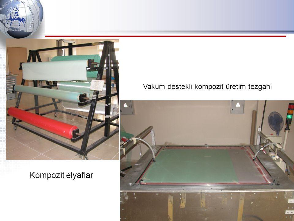 Kompozit elyaflar Vakum destekli kompozit üretim tezgahı