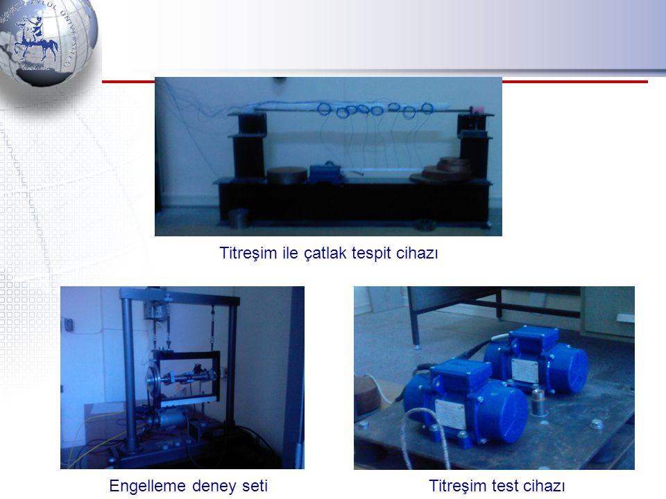 Titreşim ile çatlak tespit cihazı Engelleme deney seti Titreşim test cihazı