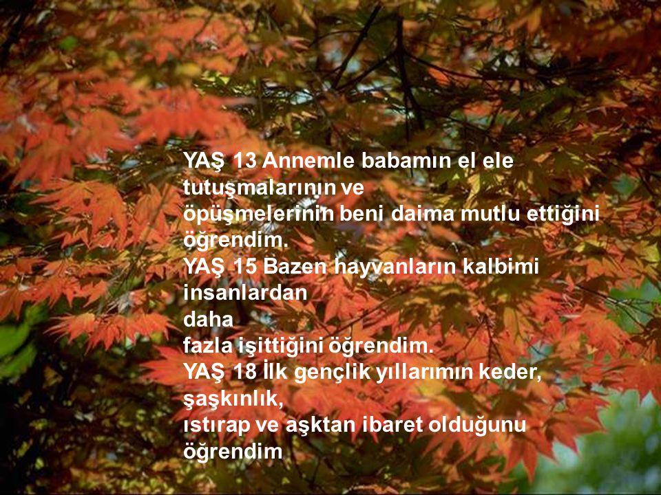 http://turkgazeteleri.cjb.net 4 YAŞ 24 Aşkın kalbimi kırabileceğini ama buna değer olduğunu öğrendim.