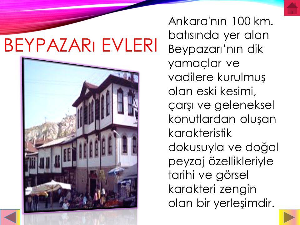 ANKARA KALESI Ankara Kalesi: Ankara'ya hâkim bir tepenin üzerinde kurulmuş olan ve zaman içinde kentin simgesi haline gelen Ankara Kalesi'nin ilk yapı