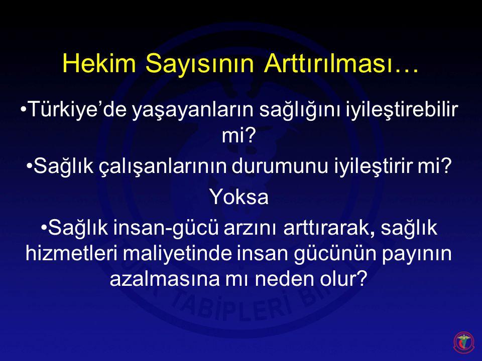 Türkiye'de yaşayanların sağlığını iyileştirebilir mi.