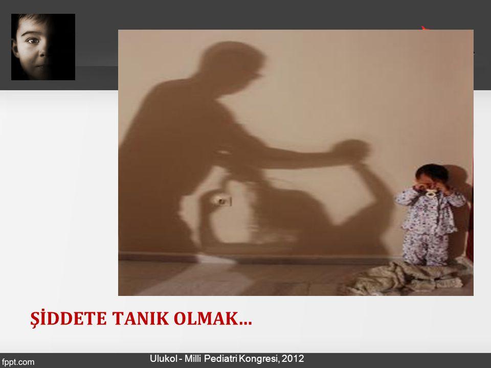 OR:2,4 OR:2,1 OR:4,1 OR:3,5 ÇÇOYD- AÜTF, 2012 Ulukol - Milli Pediatri Kongresi, 2012