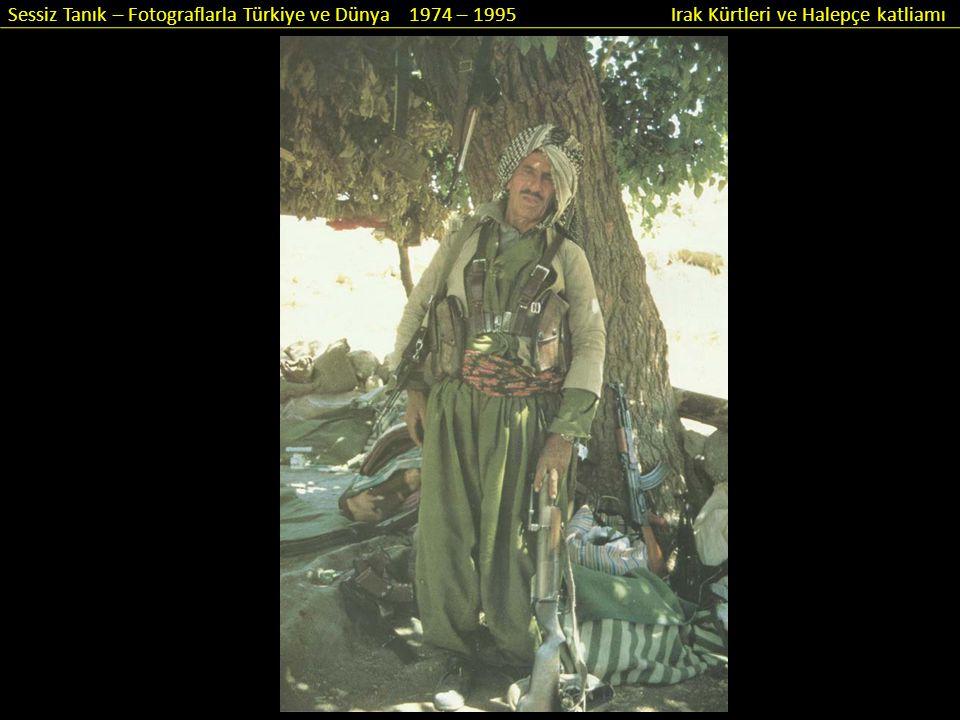 Sessiz Tanık – Fotograflarla Türkiye ve Dünya 1974 – 1995 Irak Kürtleri ve Halepçe katliamı Kürtler sonunda sandık başına gittiler.