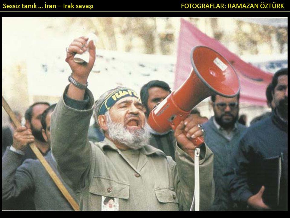 Sessiz tanık … İran – Irak savaşı FOTOGRAFLAR: RAMAZAN ÖZTÜRK GÜNÜNÜZ AYDIN VE SAVAŞSIZ OLSUN.