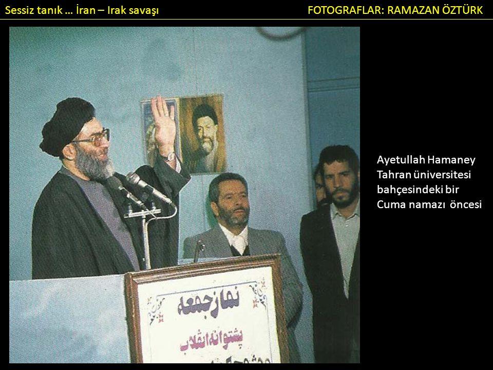 Sessiz tanık … İran – Irak savaşı FOTOGRAFLAR: RAMAZAN ÖZTÜRK Acı bilanço ortaya çıkıyor: cepheden gelen tabutlar.
