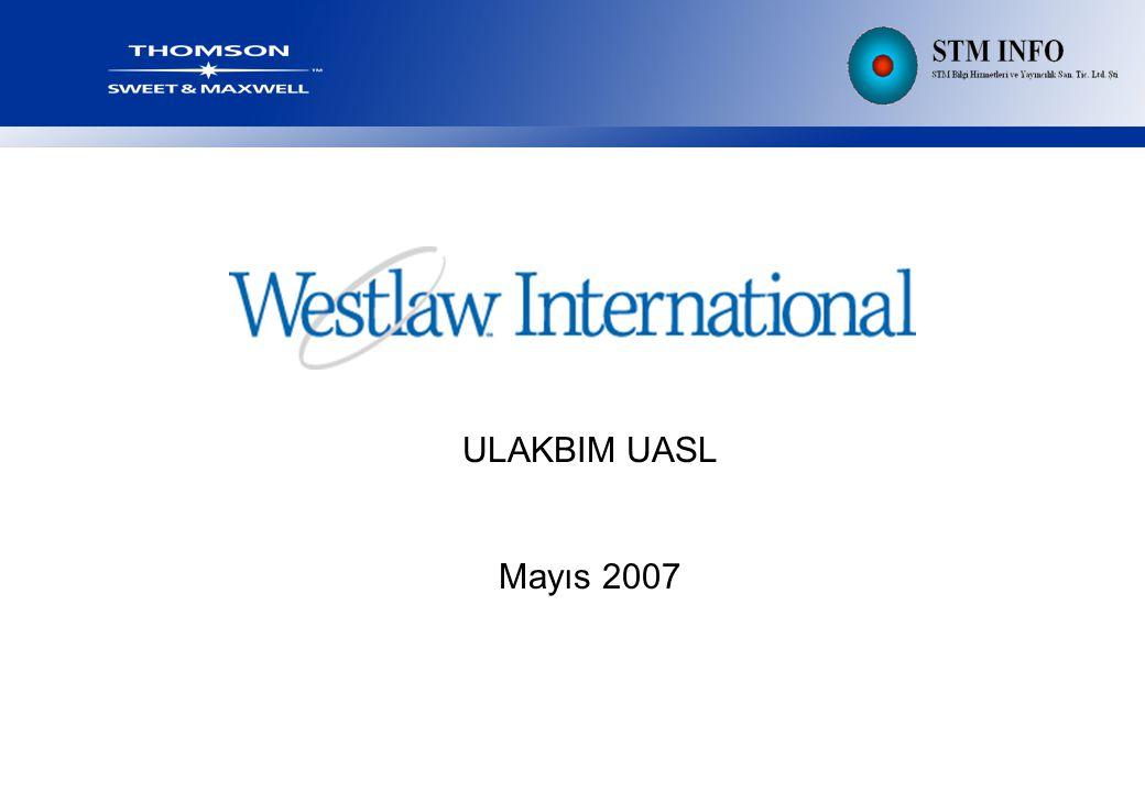 ULAKBIM UASL Mayıs 2007