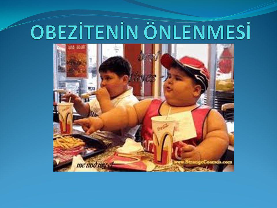 Dünya Sağlık Örgütü (DSÖ) tarafından obezite Sağlığı bozacak ölçüde yağ dokularındaki anormal artış veya aşırı yağ birikmesi olarak tanımlanmıştır.
