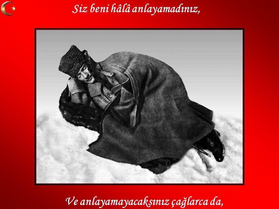 Mustafa Kemal i anlamak aldatmak değil, Mustafa Kemal ülküsü sadece söz değil.