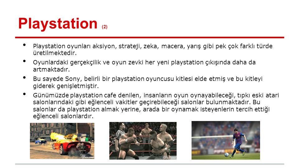 Dünden Bugüne Playstation (1) ●http://www.teknokulis.com/webtv/videoizle/dunden- bugune-sony-playstationhttp://www.teknokulis.com/webtv/videoizle/dunden- bugune-sony-playstation