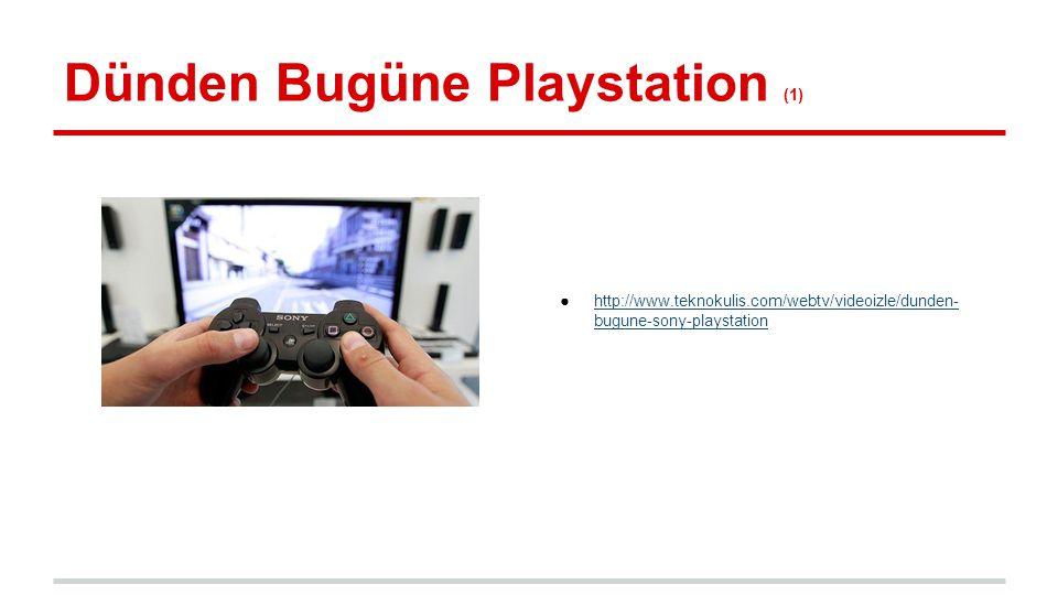 Playstation Tarihi (1) 1994 yılında piyasaya sürülen playstation 1, dünya çapında 100 milyonun üstünde playstation satarak bu başarıyı elde edebilen ilk oyun konsolu oldu.