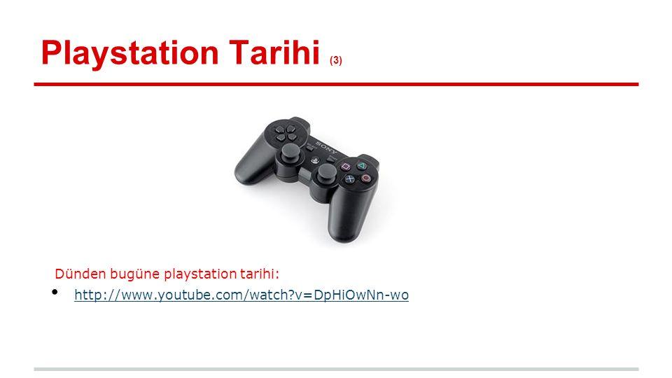 PlayStation Network (1) ❖ PlayStation Network, Sony Entertainment Network tarafından oluşturulmuş; ➔ çevrimiçi oyun oynanabilen, ➔ oyun ve video indirilebilen, ➔ arkadaşlarınızla sohbet edebildiğiniz, ➔ forum sayfası ile tartışmalara katılabildiğiniz ve tecrübelerinizi paylaşabileceğiniz bir dijital medya ortamıdır.
