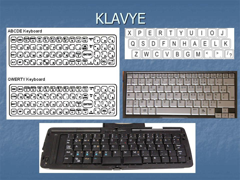 KLAVYE 1986 yılından itibaren IBM tarafından fonksiyon ve kontrol tuşları klavyelere eklenmeye başlanmıştır.