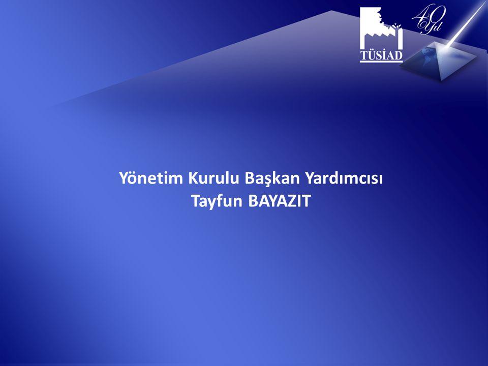 Yönetim Kurulu Başkan Yardımcısı Tayfun BAYAZIT