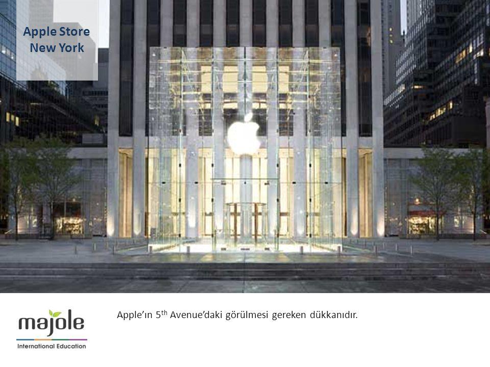 BİRLEŞMİŞ MİLLETLER GENEL MERKEZİNDE EĞİTİM SEMİNERİ 2- 10 Aralık 2012 Apple'ın 5 th Avenue'daki görülmesi gereken dükkanıdır. Apple Store New York