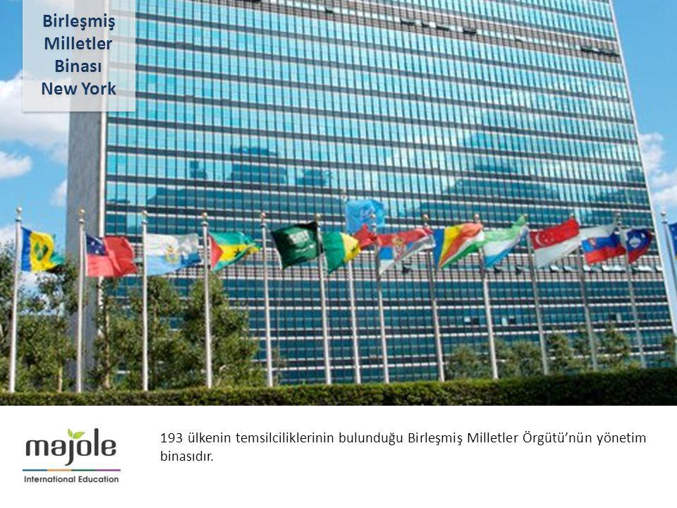 BİRLEŞMİŞ MİLLETLER GENEL MERKEZİNDE EĞİTİM SEMİNERİ 2- 10 Aralık 2012 193 ülkenin temsilciliklerinin bulunduğu Birleşmiş Milletler Örgütü'nün yönetim