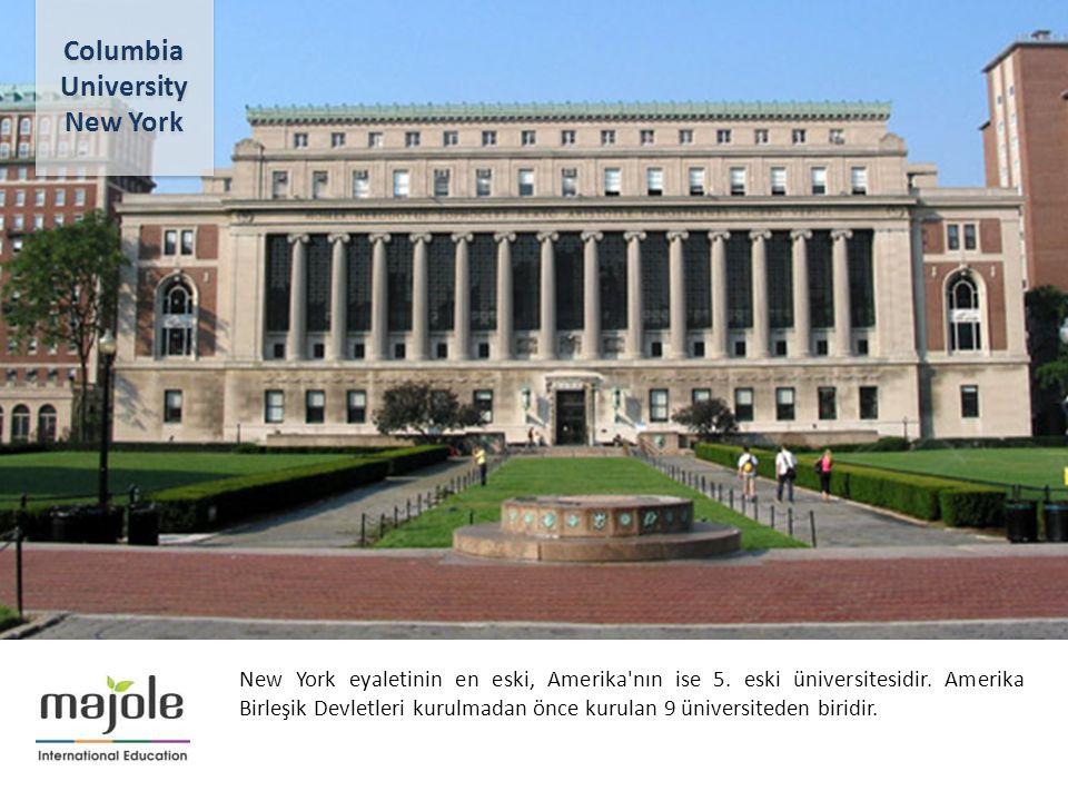 BİRLEŞMİŞ MİLLETLER GENEL MERKEZİNDE EĞİTİM SEMİNERİ 2- 10 Aralık 2012 New York eyaletinin en eski, Amerika'nın ise 5. eski üniversitesidir. Amerika B