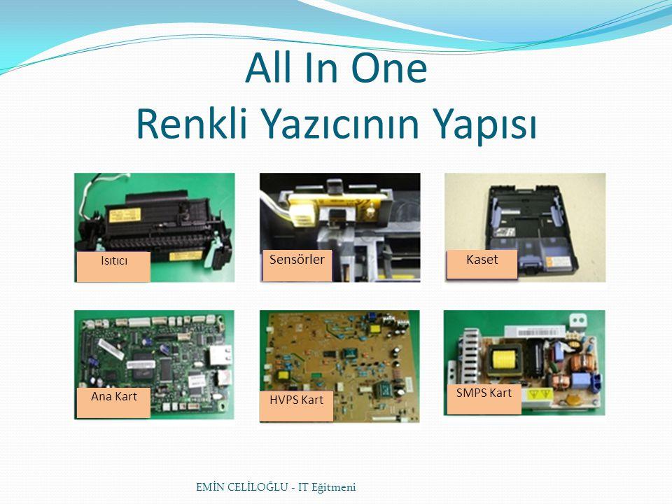 EMİN CELİLOĞLU - IT Eğitmeni All In One Renkli Yazıcının Yapısı LSUMotor