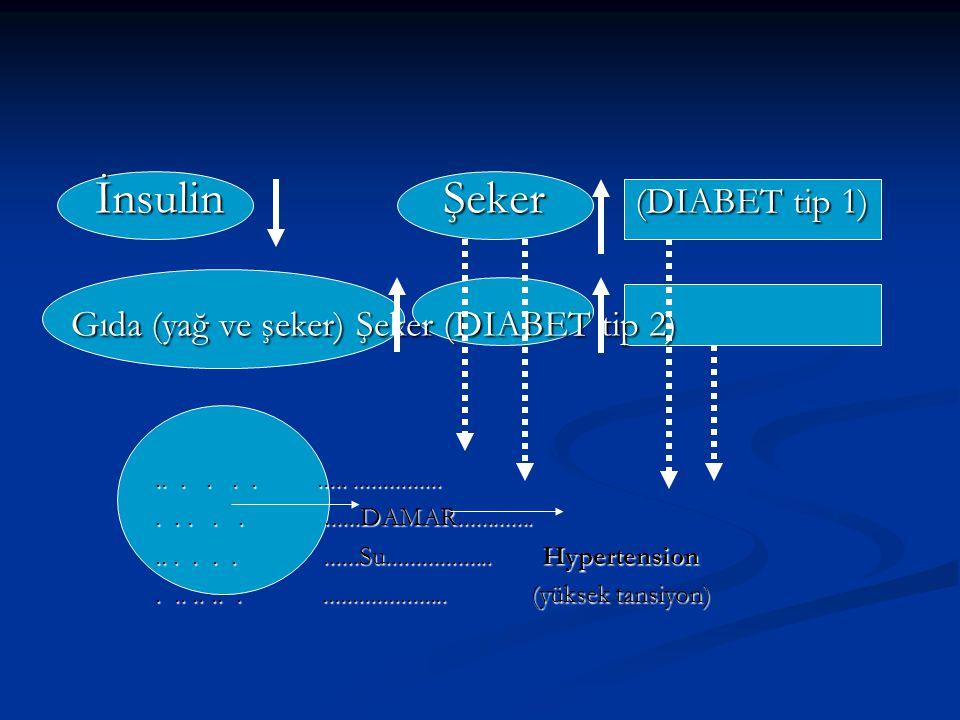 Kan şekeri < 70-140 mg/dL Kan şekeri < 70-140 mg/dL >140 mg/dL (DIABET) >140 mg/dL (DIABET) <40 mg/dL (hypoglisemia) <40 mg/dL (hypoglisemia) Günde üç-dört defa kan şekerini tespit et.