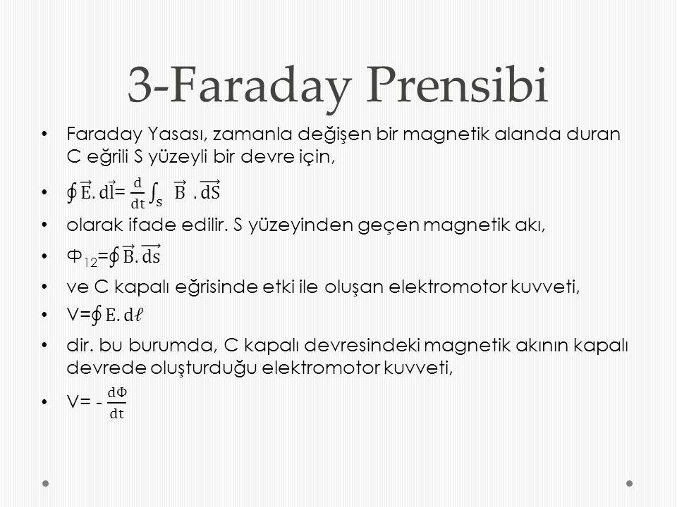 3-Faraday Prensibi