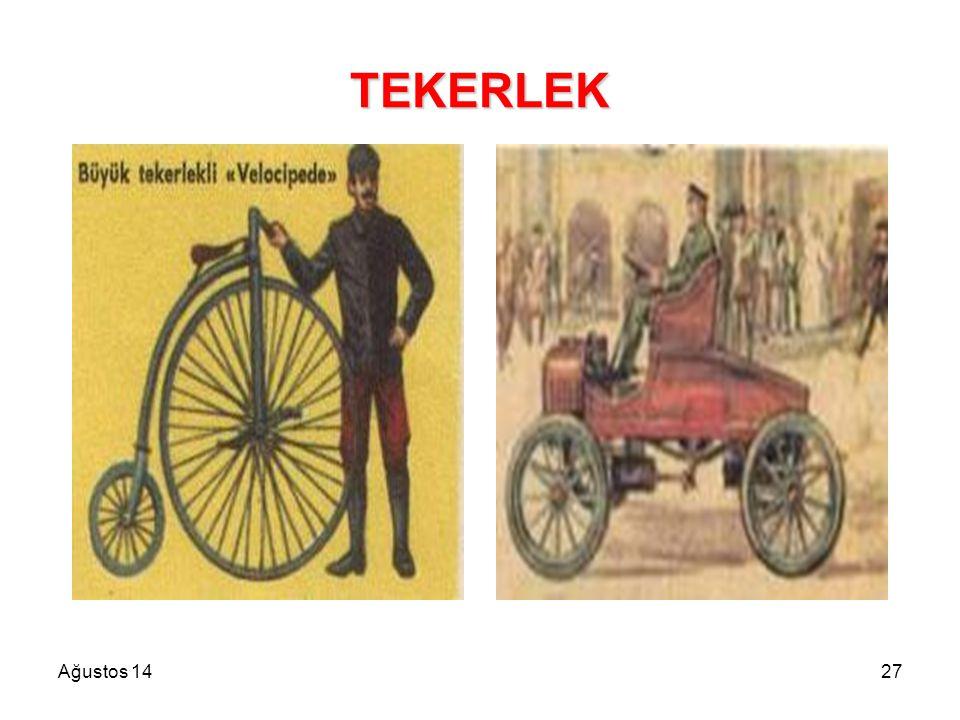 Ağustos 1427 TEKERLEK