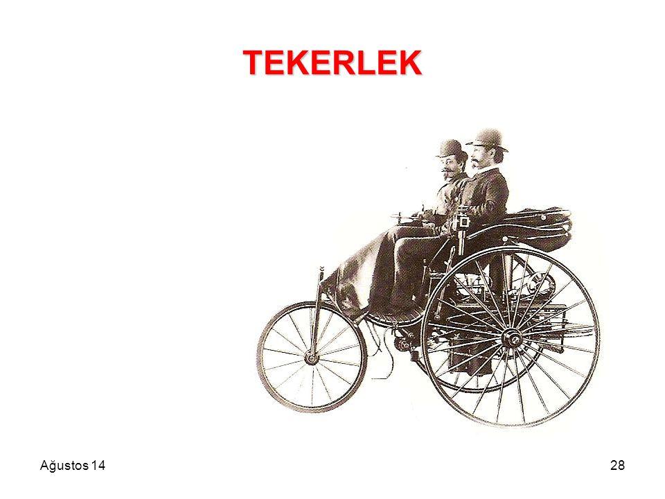 Ağustos 1428 TEKERLEK