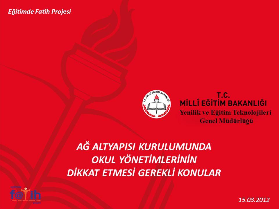 Türk Telekom tarafından sistem odasına çekilen fiber optik kablonun zeminde rulo halinde veya duvarda sarkarak kabinete kadar ilerlememelidir.