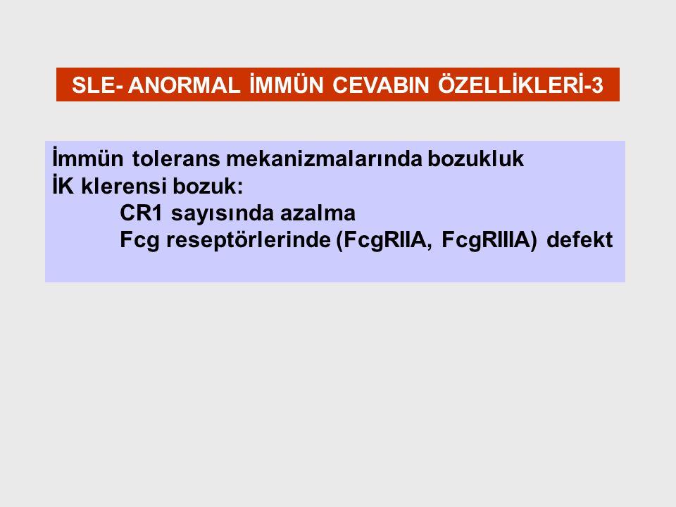RENAL Bx AKTİVİTE - KRONİSİTE İNDEKSLERİ Aktivite 1.Proliferasyon 2.