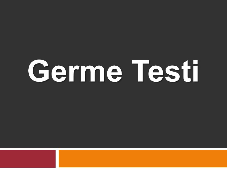 Germe Testi