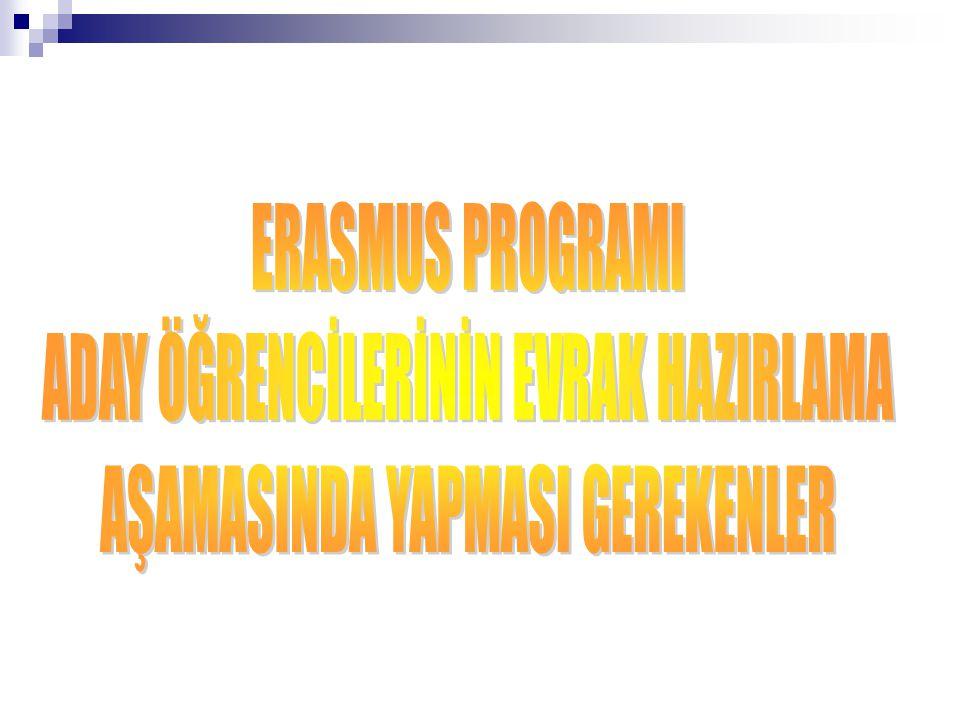 Öncelikle gideceğiniz ülkede Erasmus Yoğun Yabancı Dil Kursu (EILC) olup olmadığını http://ec.europa.eu/education/programmes/ llp/erasmus/eilc/index_en.html llp/erasmus/eilc/index_en.html adresinden kontrol ediniz.