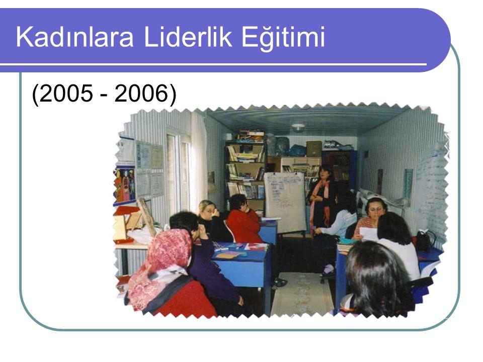 Kadınlara Liderlik Eğitimi (2005 - 2006)