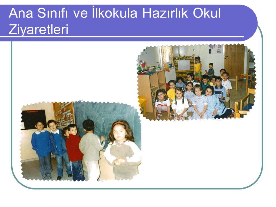 Ana Sınıfı ve İlkokula Hazırlık Okul Ziyaretleri