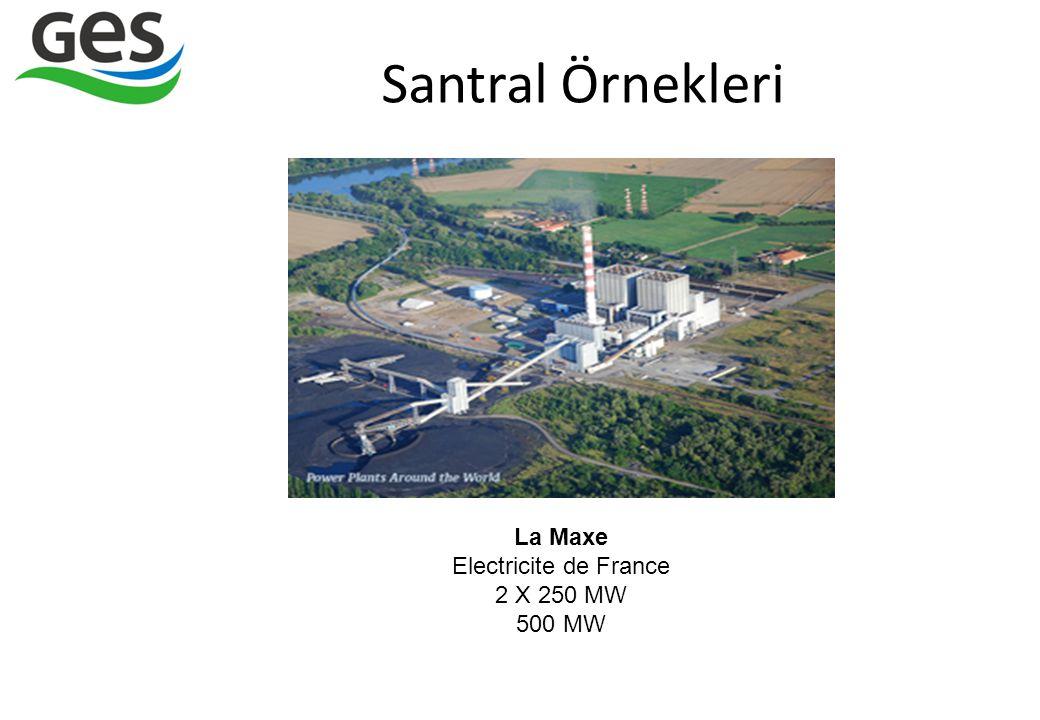 Santral Örnekleri La Maxe Electricite de France 2 X 250 MW 500 MW