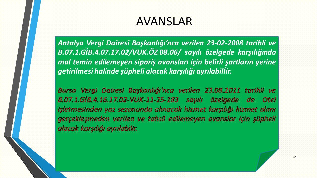 AVANSLAR 34