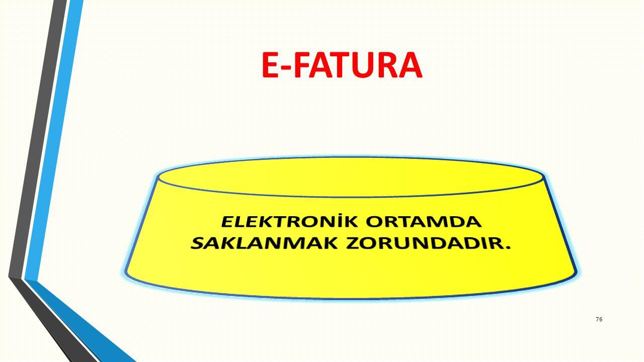 E-FATURA 76