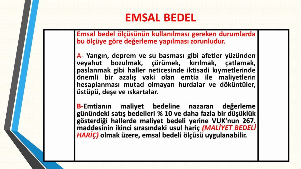 EMSAL BEDEL 8