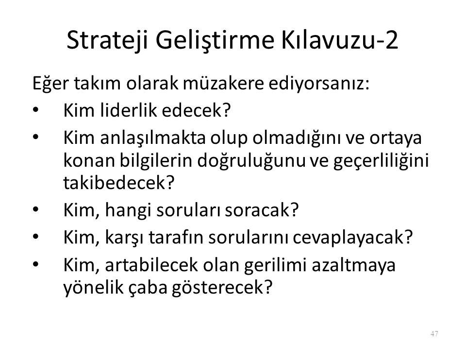 Strateji Geliştirme Kılavuzu-1 İlk oturumda neleri sormalıyız.