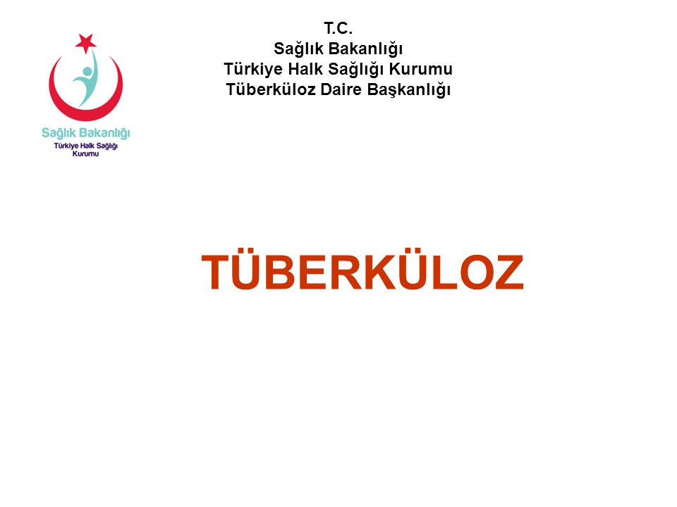 Türkiye'nin 2012 yılı toplam TB hasta sayısı: 14.691 Erkek8.727%59 Kadın5.964%41 Akciğer tüberkülozu 9.391%64 Akciğer dışı tüberküloz 5.300%36 Yeni hasta13.535%92 Önceden tedavi görmüş hasta 1.156%8 Toplam Hasta14.691 Türkiye'de 2012 Yılında Kayıt Edilen Hastalar