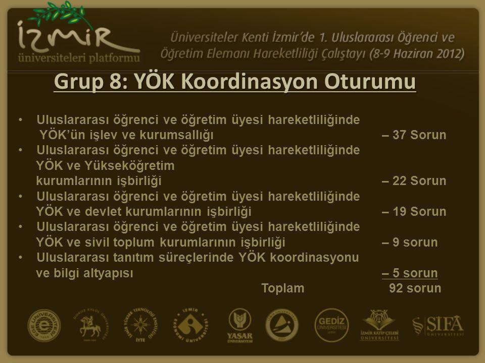 Çözüm Önerileri: Uluslararası öğrenci ve öğretim üyesi hareketliliğinde YÖK ve Yükseköğretim kurumlarının işbirliği 1.