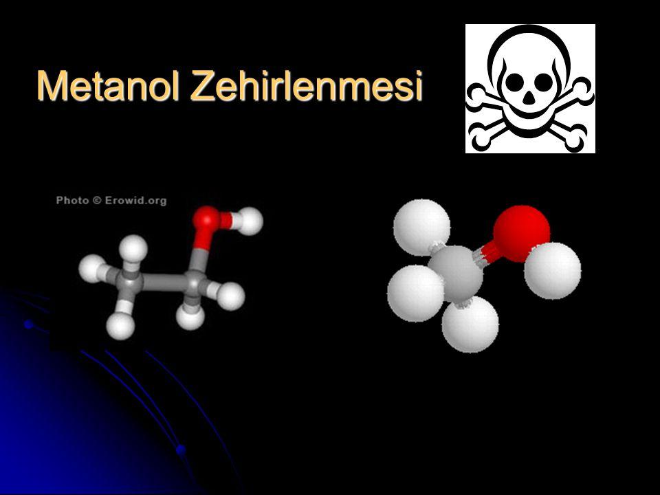 Metanol Zehirlenmesi