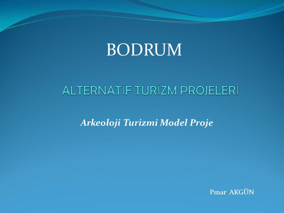 BODRUM Arkeoloji Turizmi Model Proje Pınar AKGÜN
