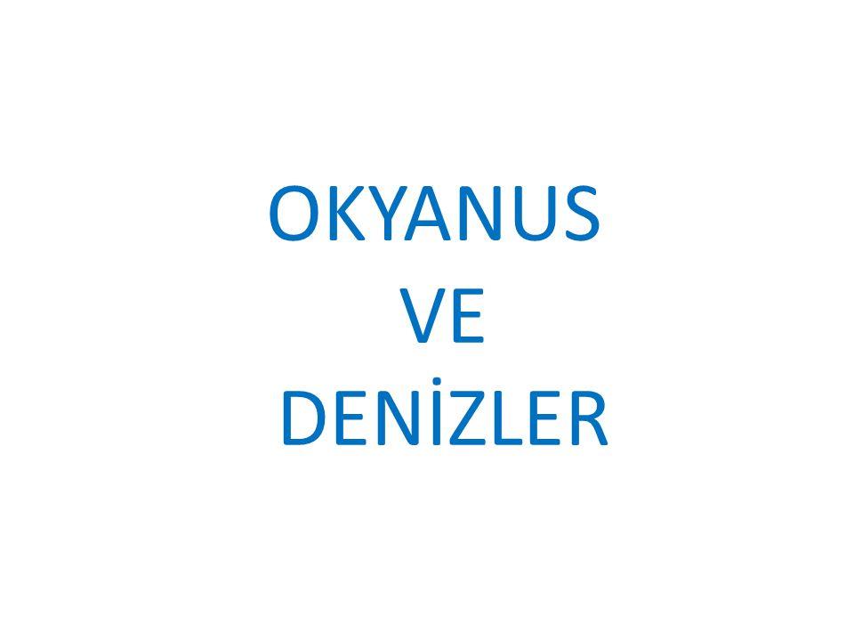 OKYANUS VE DENİZLER