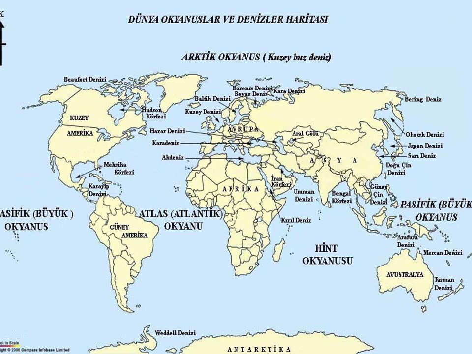 Dünyadaki okyanuslar