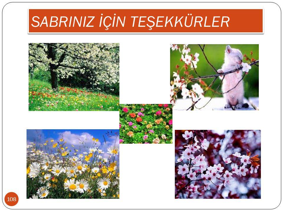 SABRINIZ İÇİN TEŞEKKÜRLER 108