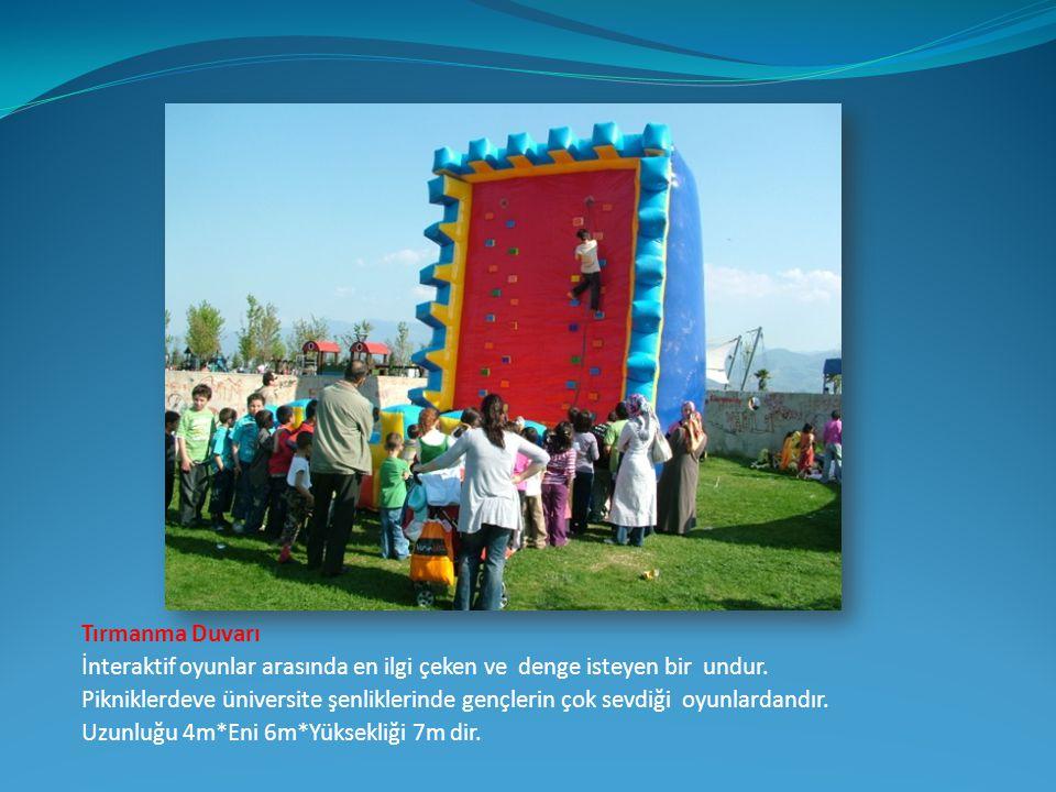 Şut Becerisi Katılımcıların futbol becerilerini göstereceği şişme kalemiz çeşitli formatlarda oyun imkanı sunmaktadır.