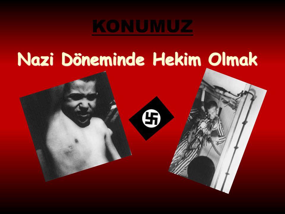 Metin Gürkan  NAZİ DÖNEMİNDE HEKİM OLMAK………  Hoven, Buchemwald toplama kampında tıbbi deneylerin yönetimden sorumlu oldu.