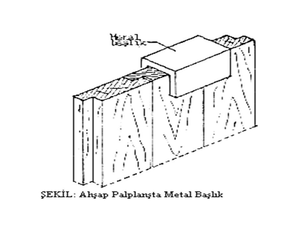 PALPLANŞLAR Çok akıcı ve yeraltı su seviyesi yüksek zeminleri desteklemek için uygulanan tahkimatlardır. Malzemelerine göre 3 guruba ayrılırlar. Ahşap