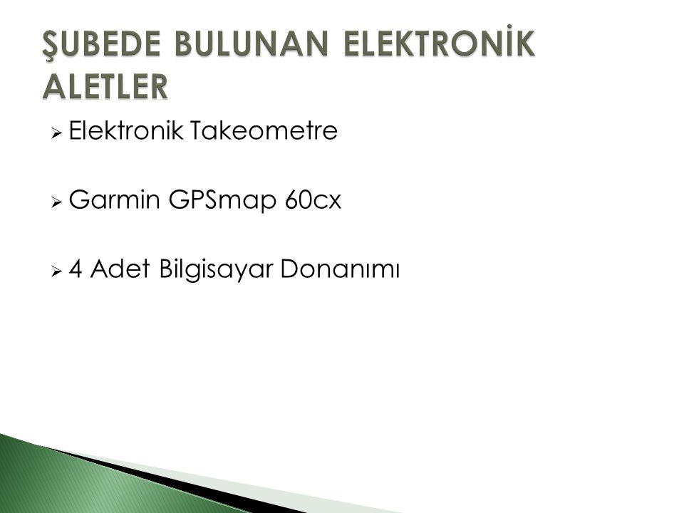  Elektronik Takeometre  Garmin GPSmap 60cx  4 Adet Bilgisayar Donanımı