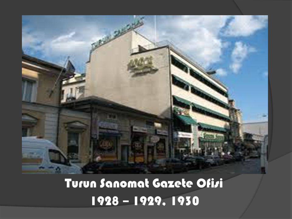 Turun Sanomat Gazete Ofisi 1928 – 1929, 1930